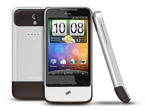 Android 2.2 update for Vodafone HTC Legend being sent out OTA from midday tomorrow