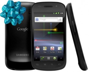 Congratulations, you've won a Nexus S!