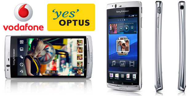 Sony Ericsson Xperia Arc coming to both Optus & Vodafone in April