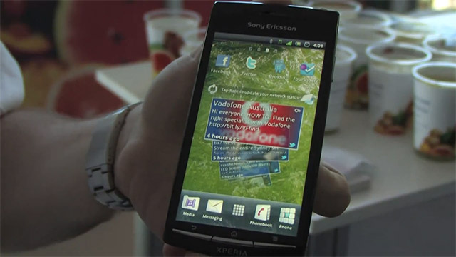Sony Ericsson Xperia Arc coming soon to Vodafone, video preview