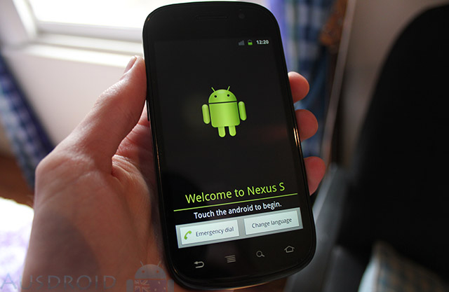 Google Nexus S from Vodafone — Review
