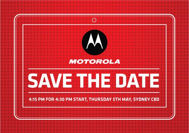 Motorola holding a launch event early May, XOOM & Atrix here we come