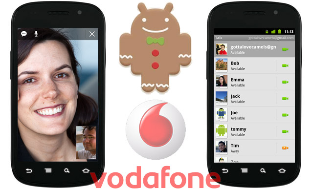 Vodafone update the Nexus S to Android 2.3.4 – Google Talk Video Calls for all