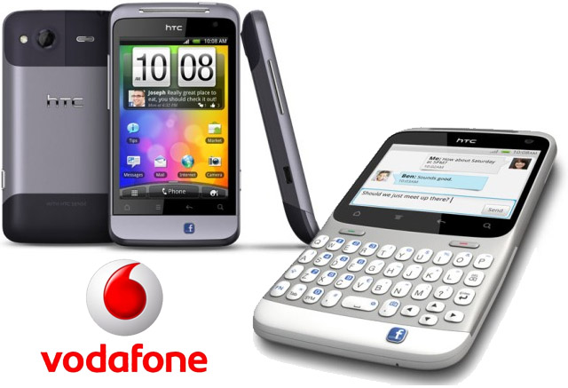 HTC Salsa and HTC ChaCha coming to Vodafone, Facebook integration in full swing