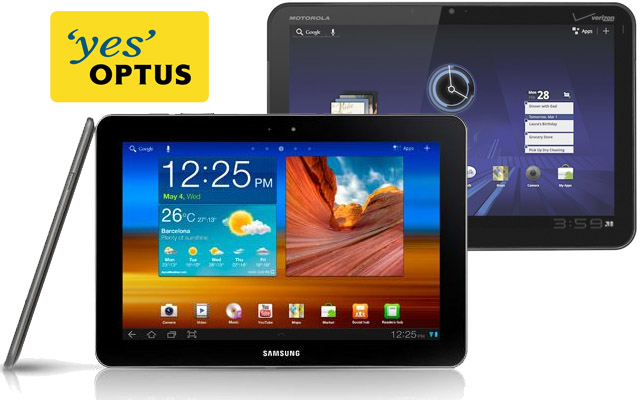 Rumour: Optus will stock the Galaxy Tab 10.1 soon, XOOM is on its way out the door