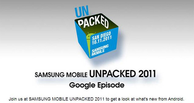 Google / Samsung holding an event October 11th — Nexus Prime and Ice Cream Sandwich incoming