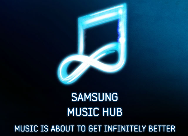 Samsung Music Hub now available for Samsung Galaxy S II, other Galaxy devices soon.