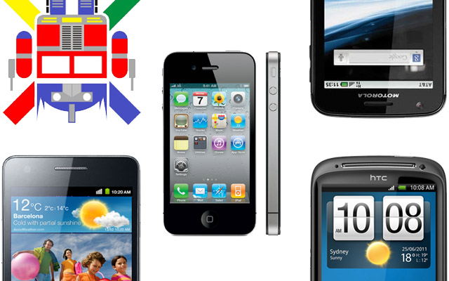Specs Comparison: Apple iPhone 4S, HTC Sensation, Samsung Galaxy S II, Motorola Atrix, Google Nexus Prime