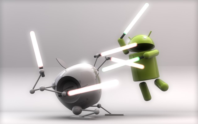 Apple Take Jabs at Android Again