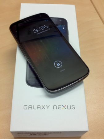 Galaxy Nexus – First Impressions