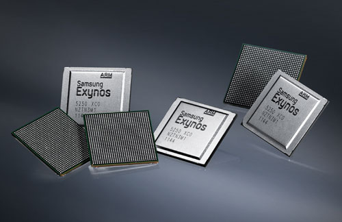 Samsung shows off their new 32nm quad-core Exynos CPU ahead of Mobile World Congress