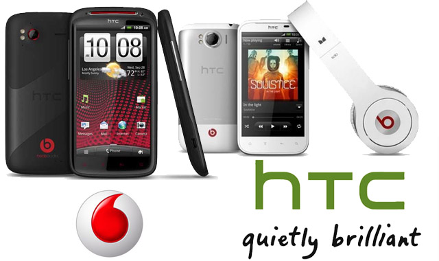 HTC Sensation XE and Sensation XL available from Vodafone today, $0 and $5 on $59 cap respectively