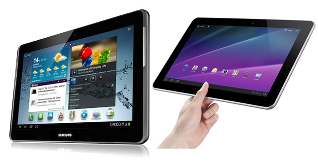 Comparison: Galaxy Tab 2 10.1 vs Galaxy Tab 10.1