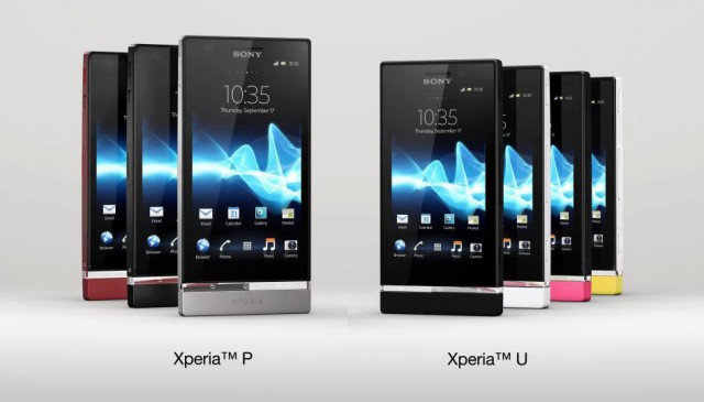 Sony officially launches Xperia P and Xperia U