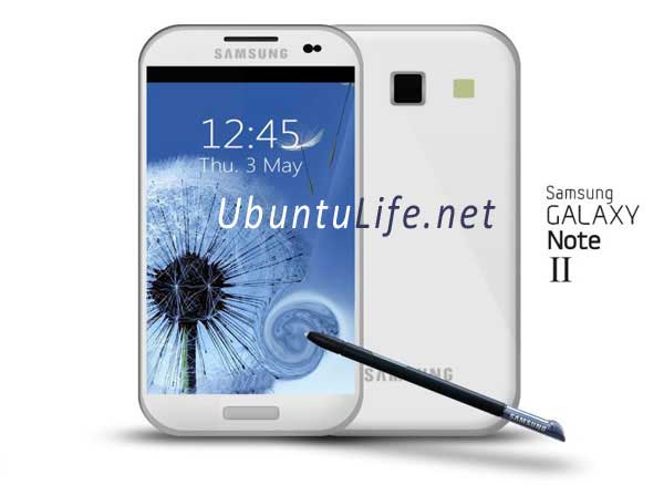 Rumour : Galaxy Note II coming this October