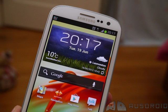 Maintenance update rolling out to Samsung Galaxy S III