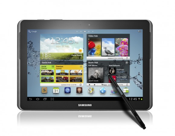 Android 4.1 for the Samsung Galaxy Note 10.1 leaks online