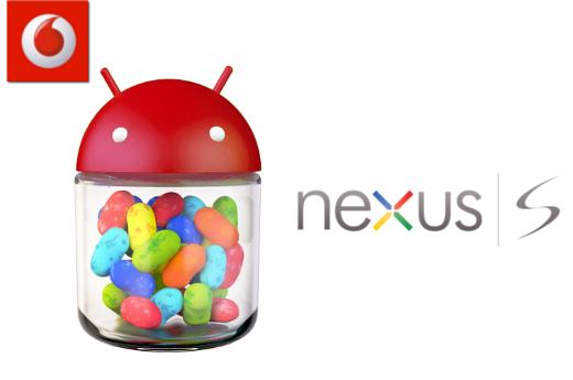 Vodafone wins the Nexus S Jelly Bean Challenge