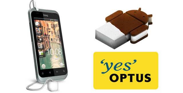 Optus approves Ice Cream Sandwich update for HTC Rhyme – HTC to roll it out soon
