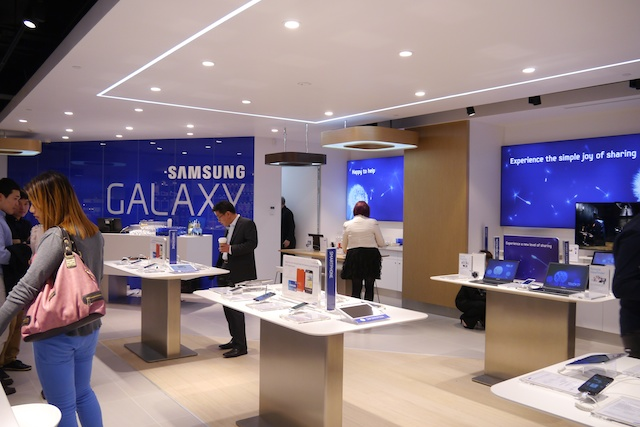 Samsung Experience Store opening in Melbourne, Thursday 14th of March