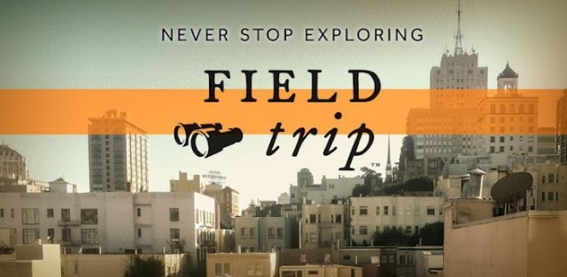 Information from Field Trip to appear in Google Now soon