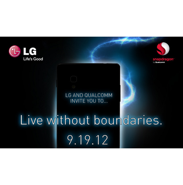 LG & Qualcomm announce US event for September 19  to 'Live Without Boundaries'