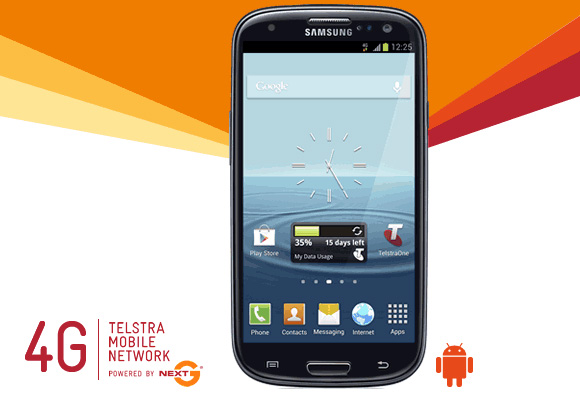 Samsung Galaxy S III 4G from Telstra now available for online purchase