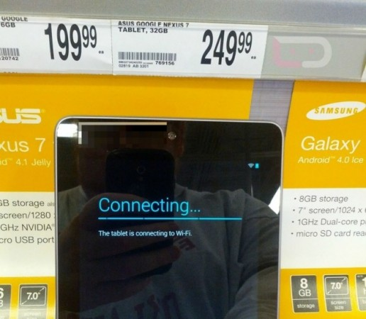 Nexus 7 32GB seen at Office Depot in the US