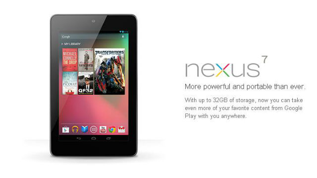 Nexus 7 orders resume shipping