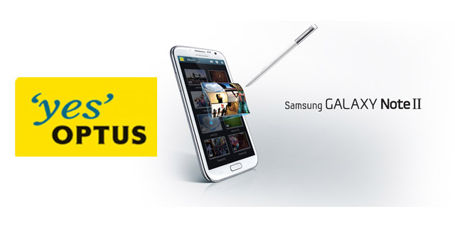 Rumour: Optus testing LTE Galaxy Note II for December launch