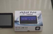 Alfar Pad next to the box