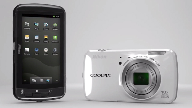 Nikon COOLPIX S800c Android camera now available in Australia
