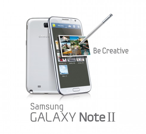 Samsung Galaxy Note II launch event — Report
