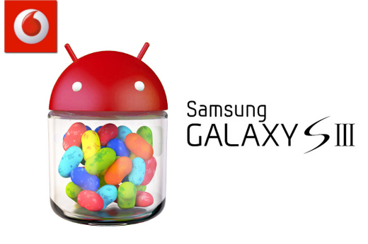 Vodafone: Galaxy S III Jelly Bean rollout to commence Monday 26 November