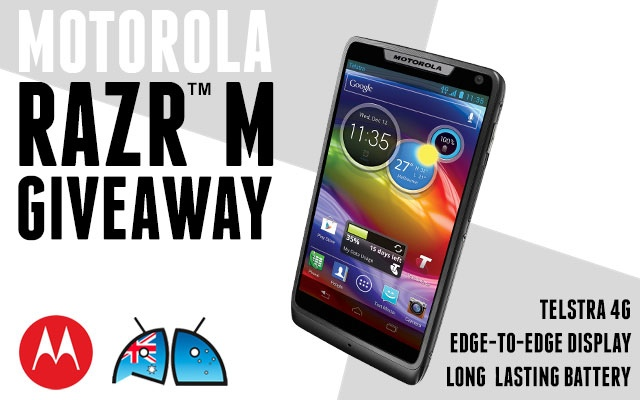 Winner of Motorola RAZR M ™ competition announced