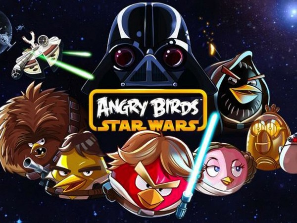 Google Hangout tonight for the release of Angry Birds Star Wars