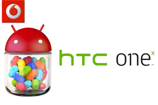 Vodafone rolling out Jelly Bean to the HTC One X