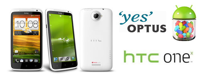Optus rolling out Jelly Bean to HTC One X