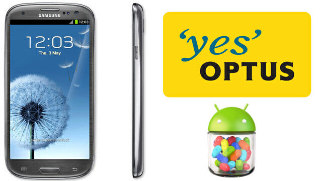 Optus Samsung Galaxy S III receiving Jelly Bean OTA Now