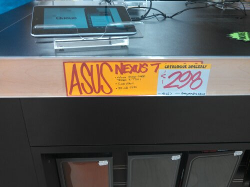*Edited* Asus Nexus 7 at JB HiFi for $298
