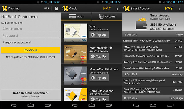 Commonwealth Bank 'Kaching' app updated, faster and slicker