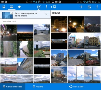 Dropbox focuses on photo sharing with new update