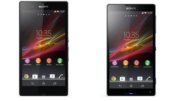 Sony Z and ZL