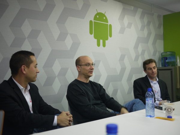 Andy Rubin quashes rumours of Google Retail Stores