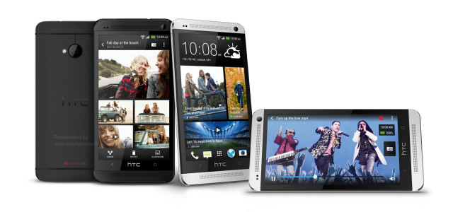 Vodafone unboxes the HTC One