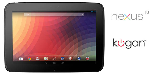 Good Deal on a Nexus 10 16GB at Kogan