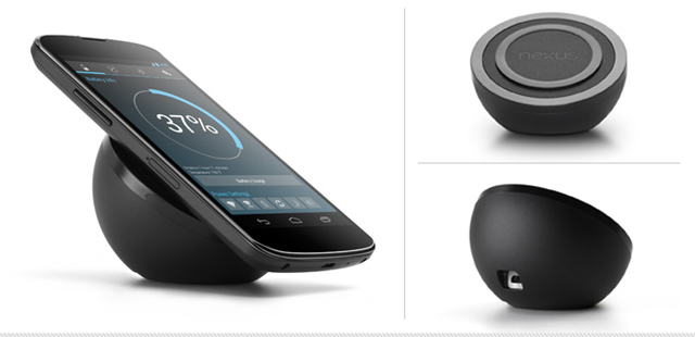 Nexus 4 Wireless Charger appears on Google Play – Still not for sale