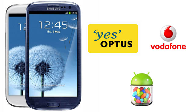 Android 4.1.2 update rolling out to Optus and Vodafone Galaxy S III now