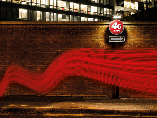 Vodafone joins 4G party; LTE to roll out from June