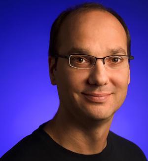 Andy Rubin, Google's director of mobile platforms.